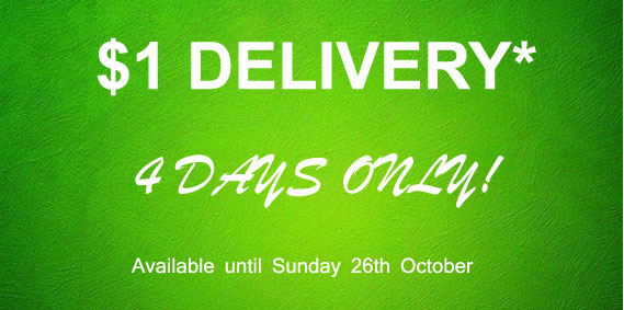 Free Delivery 4 Days Only