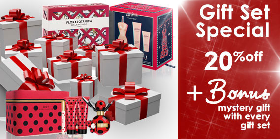 Twenty Percent Off Gift Sets