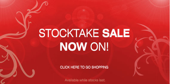 Stocktake Sale On Now!